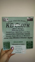 The Incredible KD Cloth is now available for sale on Kijiji!!!