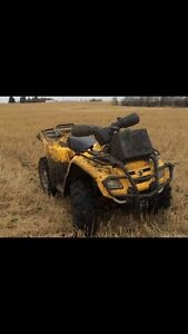 Can am outlander  and Polaris sportsman 500