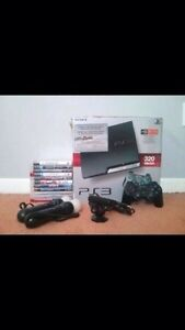 PlayStation 3 320 GB + 6 games + 2 controllers