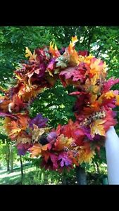 Handmade Fall Wreath Peterborough Peterborough Area image 1