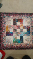 Hand made Water Color Quilt