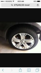 Wanted 4 (set) Winter Tires 275/45/20 75% Tread or more