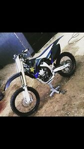 2009 yz 250f trade for truck or sled
