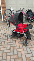 Caboose Sit N Stand Double Stroller