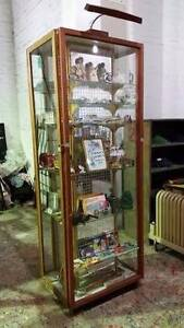 Display Cabinet that Wraps around a pole - Ex-Flinders Station Geelong Geelong City Preview