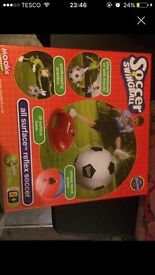 Soccer swing ball