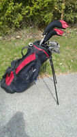 Set of golf clubs & bag for sale