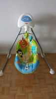 Balançoire Fisher Price pour bebe (Cradle & Swing)
