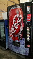 Pop Vending Machines for Business and Restaurant Areas
