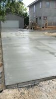 PETER'S CONCRETE*DRIVEWAYS,GARAGE PADS,SIDEWALKS & MORE!