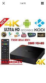 Android T95n mini Fully Loaded Kodi Jarvis 16.0, marshmallow 6.1 OS