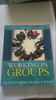 Working in Groups 5th edition book for sale