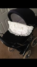 Bebecar Stylo Classic pram immaculate condition