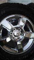 4 GMC WHEELS WITH NEW COOPER DISCOVERY AT/3 275/65/18