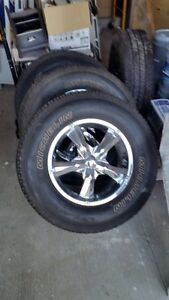 Michelin set of tires - LT275/ 70R18