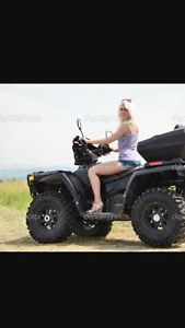 I'm looking for a four wheeler