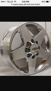 Looking for 8 bolt Chevy rims