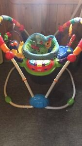 White crib for sale kijiji - Ago Exersaucer Jumperoo For Sale Gender Neutral Smoke Free Home Son