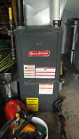 2011 Goodman Forced-Air Furnace, Natural Gas