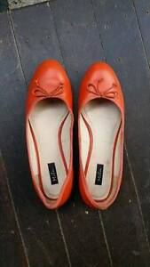 Ballerina - orange - size 39 St Kilda Port Phillip Preview