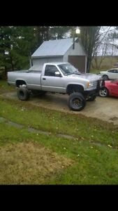 92 chev 1500 trade for sled Kitchener / Waterloo Kitchener Area image 1
