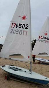 Laser Standard - 2000 Olympics, near new sail, turbo pack, dolly Kew East Boroondara Area Preview