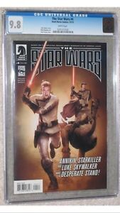8 book set.  Based on the Rough Draft of Star Wars! all 9.8 CGC Cornwall Ontario image 4