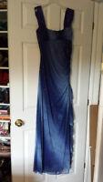 Blue formal/prom dress - Size 14
