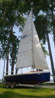 "Voilier 18' (5.5m) type ""Daysailor"""