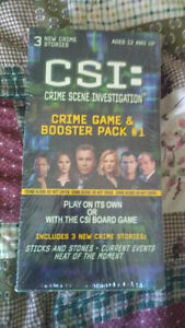 CSI board game + booster pack (new in boxes) Kingston Kingston Area image 2