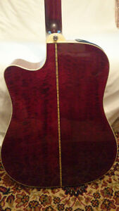 RARE EARLY 90'S TAKAMINE EF350MCR ACOUSTIC/ELECTRIC GUITAR London Ontario image 5
