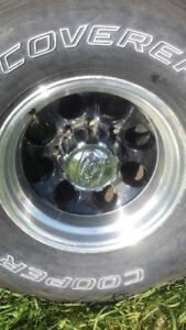 16 inch 10.5 wide Ford 8 bolt rims