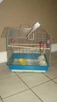 Large Bird Cage with Supplies