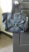 Guess black bag- great condition, less than 1 year old
