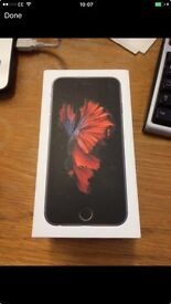 iPhone 6s o2 64 gb black and silver 1 month old
