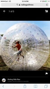 2 - 8 foot zorb balls for sale