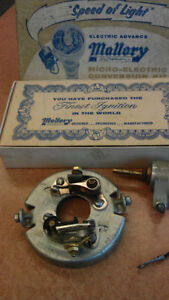 1950's Mallory Dual Point Conversion Kit-Ford & Lincoln V-8