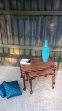 Nest Of Two Side Tables Vintage Queen Anne Style Distressed Look Coogee Eastern Suburbs Preview