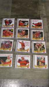 REDUCED - Coca Cola Presents Christmas Music, 12 cds