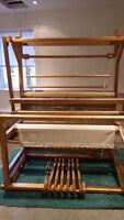 "Weaving Loom - LeClerc Colonial 45"" 4-Harness"