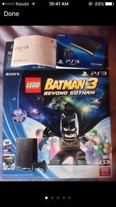 PS3 SLIM 500GB + 10 GAMES