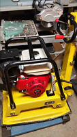 REVERSIBLE PLATE TAMPER COMPACTOR HONDA BRAND NEW 1 YR WARRANTY