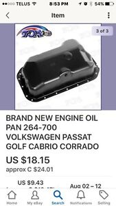 Oils pan new for Vw golf and others London Ontario image 1