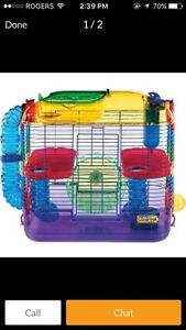 Hamster cage $60