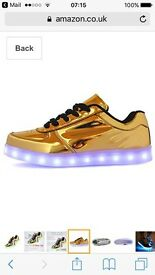 Light up size 6 trainers