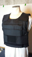 Tactical Bulletproof Vest, With Front and Back Armor Pouches