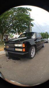 1990 Chev 1500 slammed