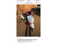 Peugeot Kisbee 50cc Sportline 2013