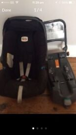 Britax car seat and isofix £40 ono
