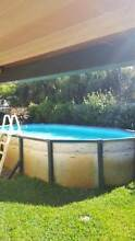 Re-Conditioned Above Ground Pool 6.1 x 3.6 x 1.2m Cannington Canning Area Preview